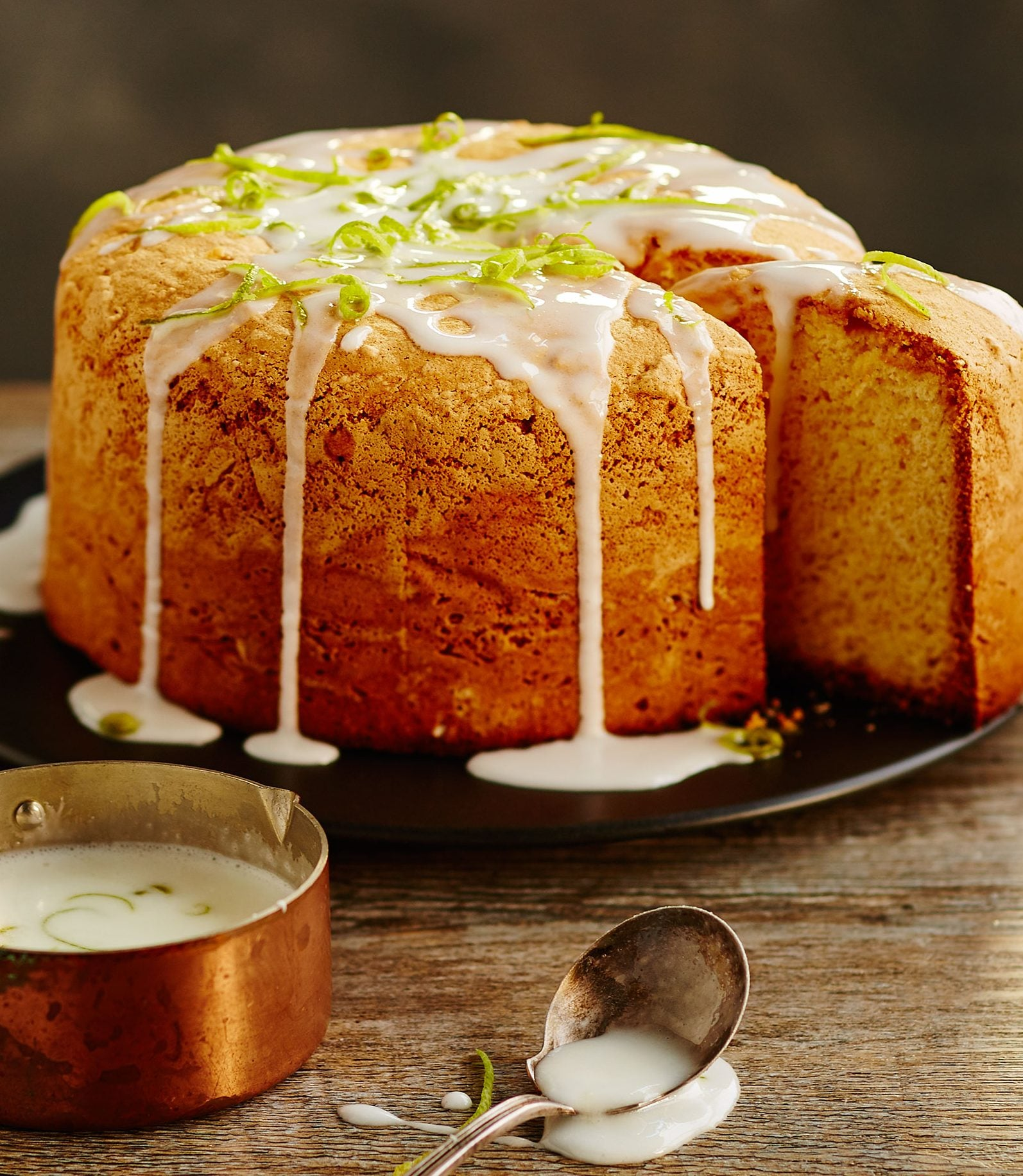 Cake, food styling