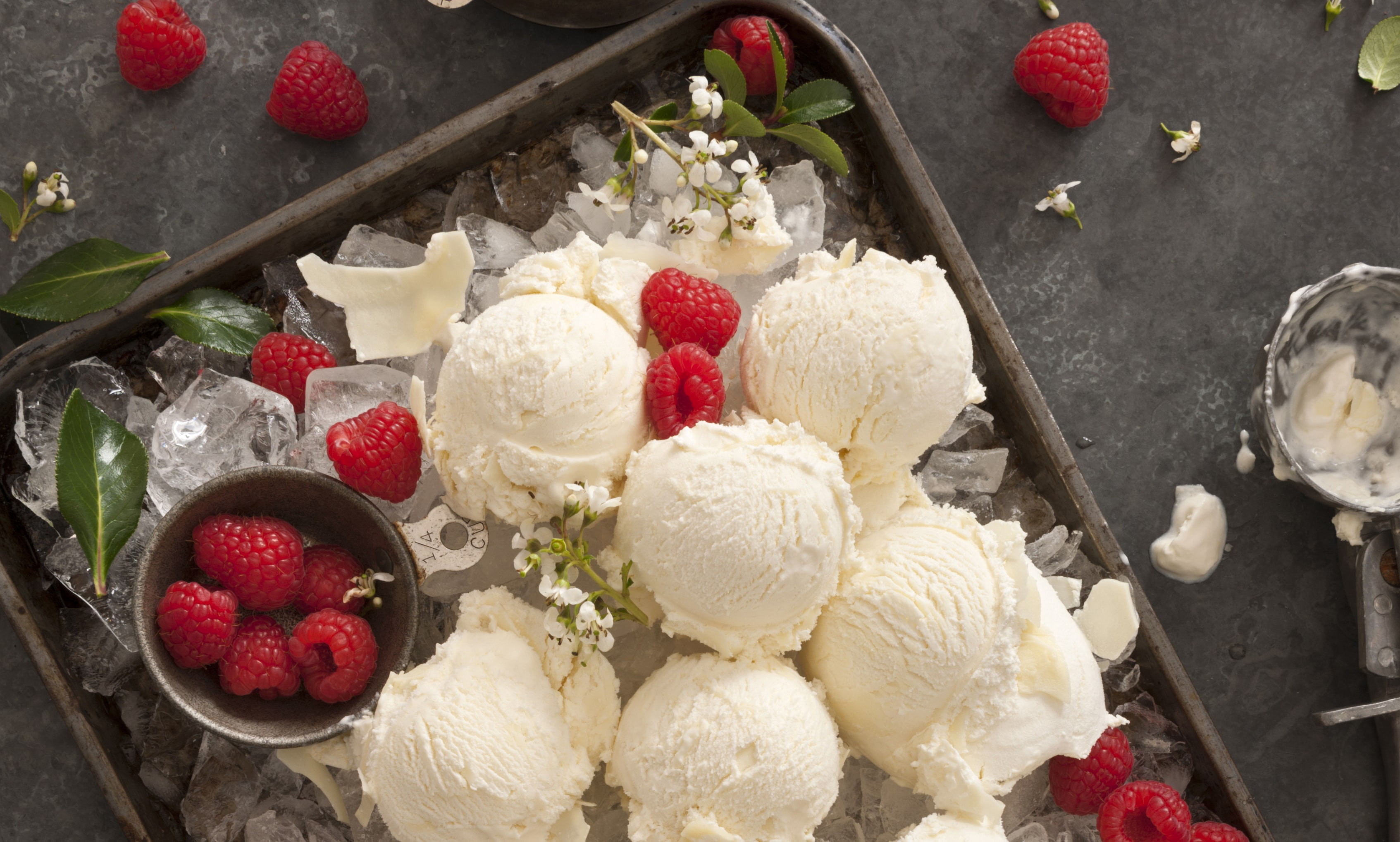 Ice Cream Food Styling
