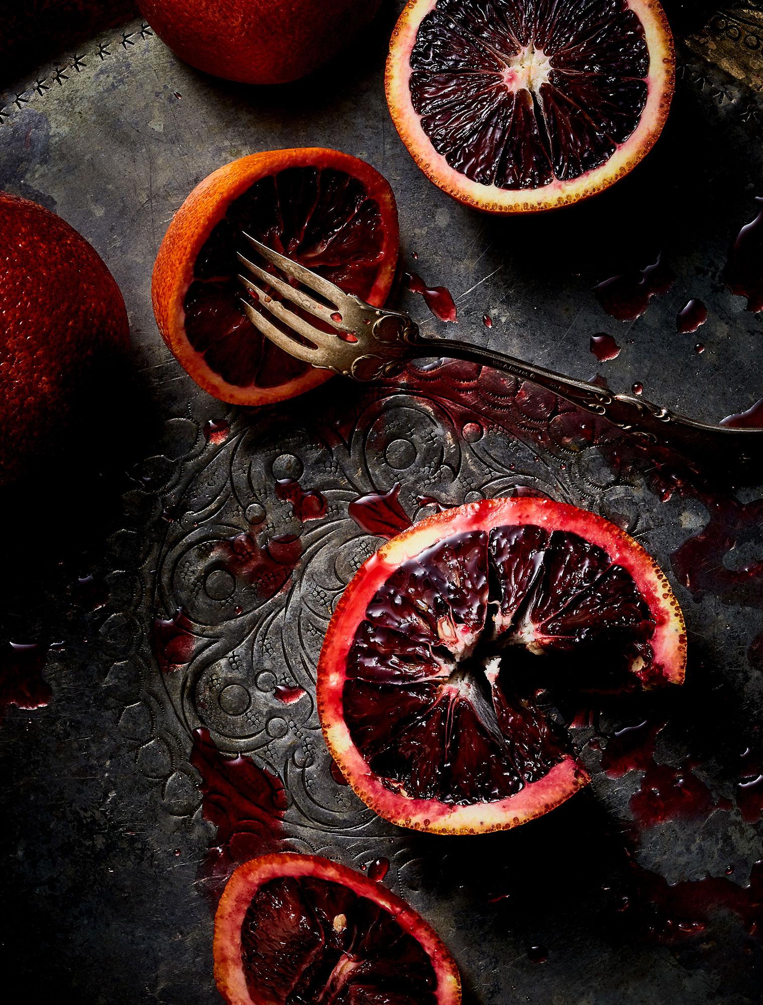 Blood Orange Food styling