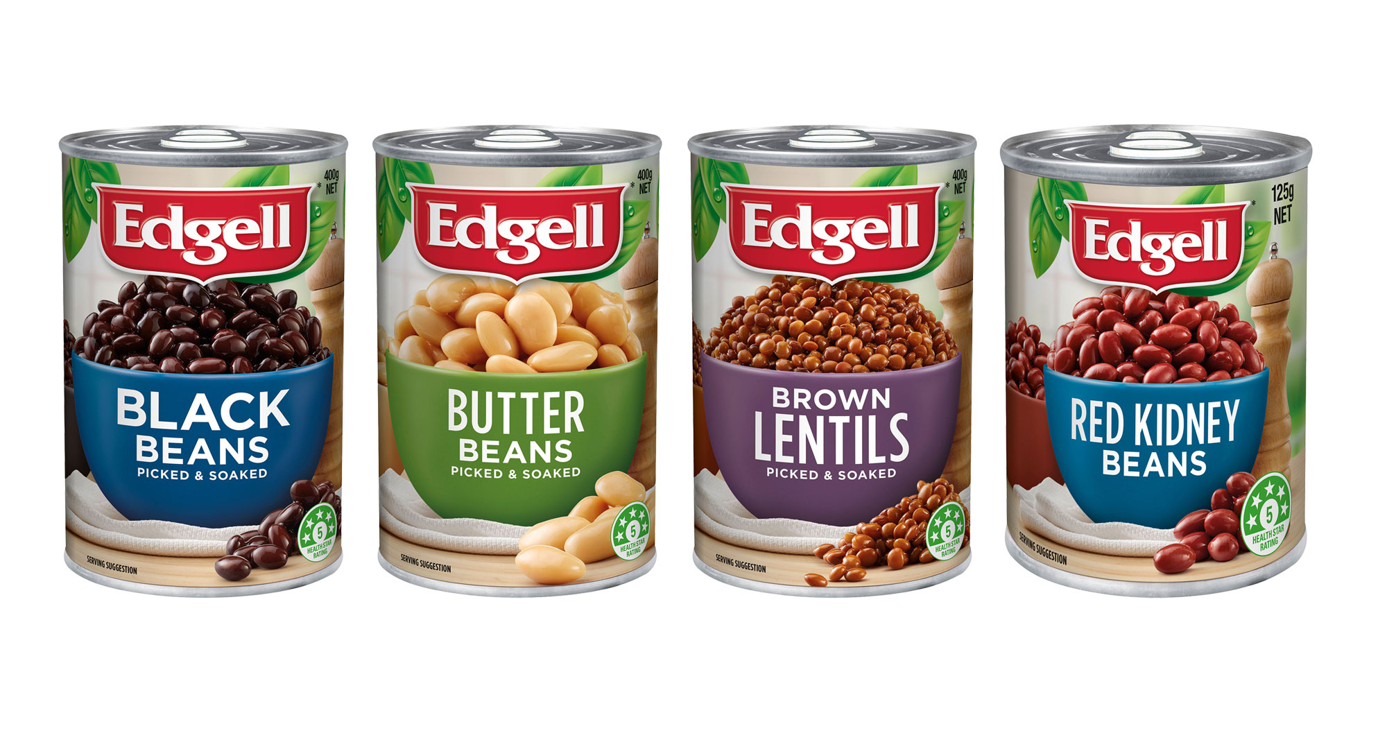 Edgell Beans, FMCG, Packaging, Food styling
