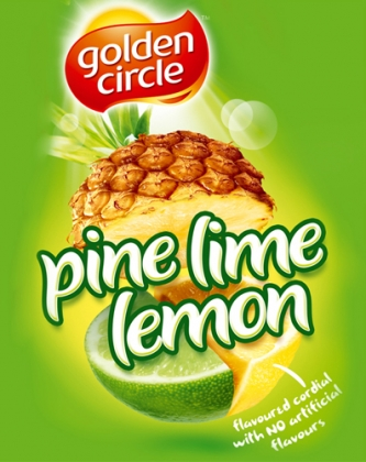 Golden Circle Juice FMCG Packaging Food styling