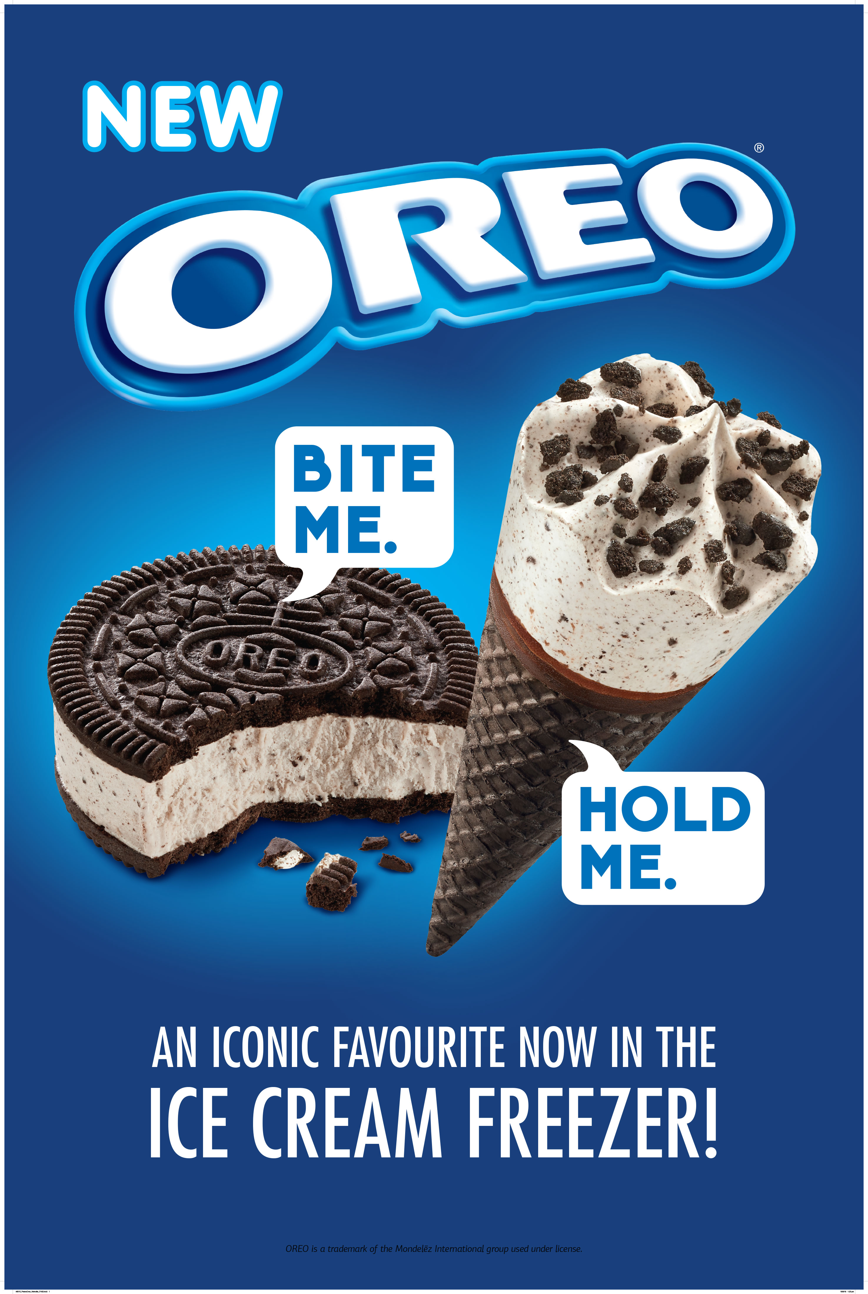 Oreo FMCG Ad Packaging Food styling
