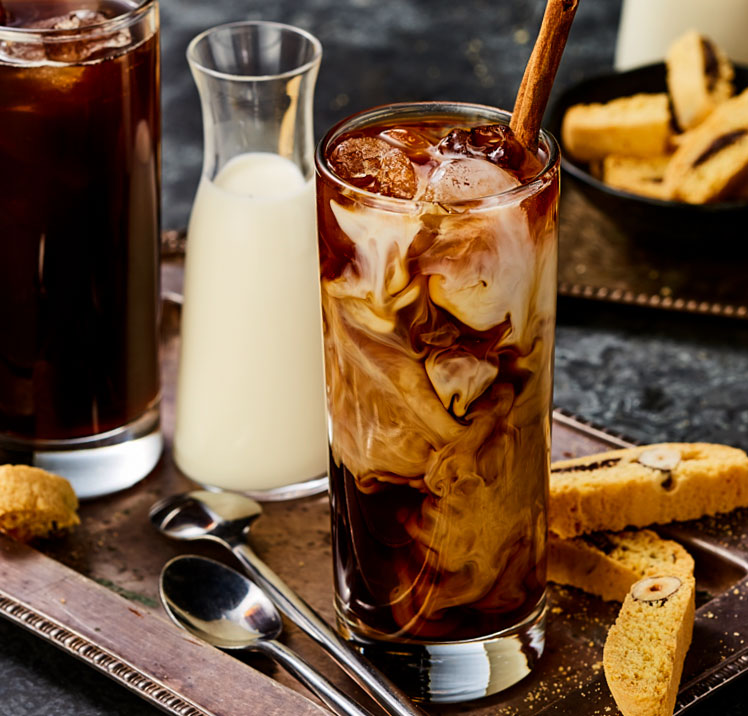 Spice Iced Coffee beverage styling
