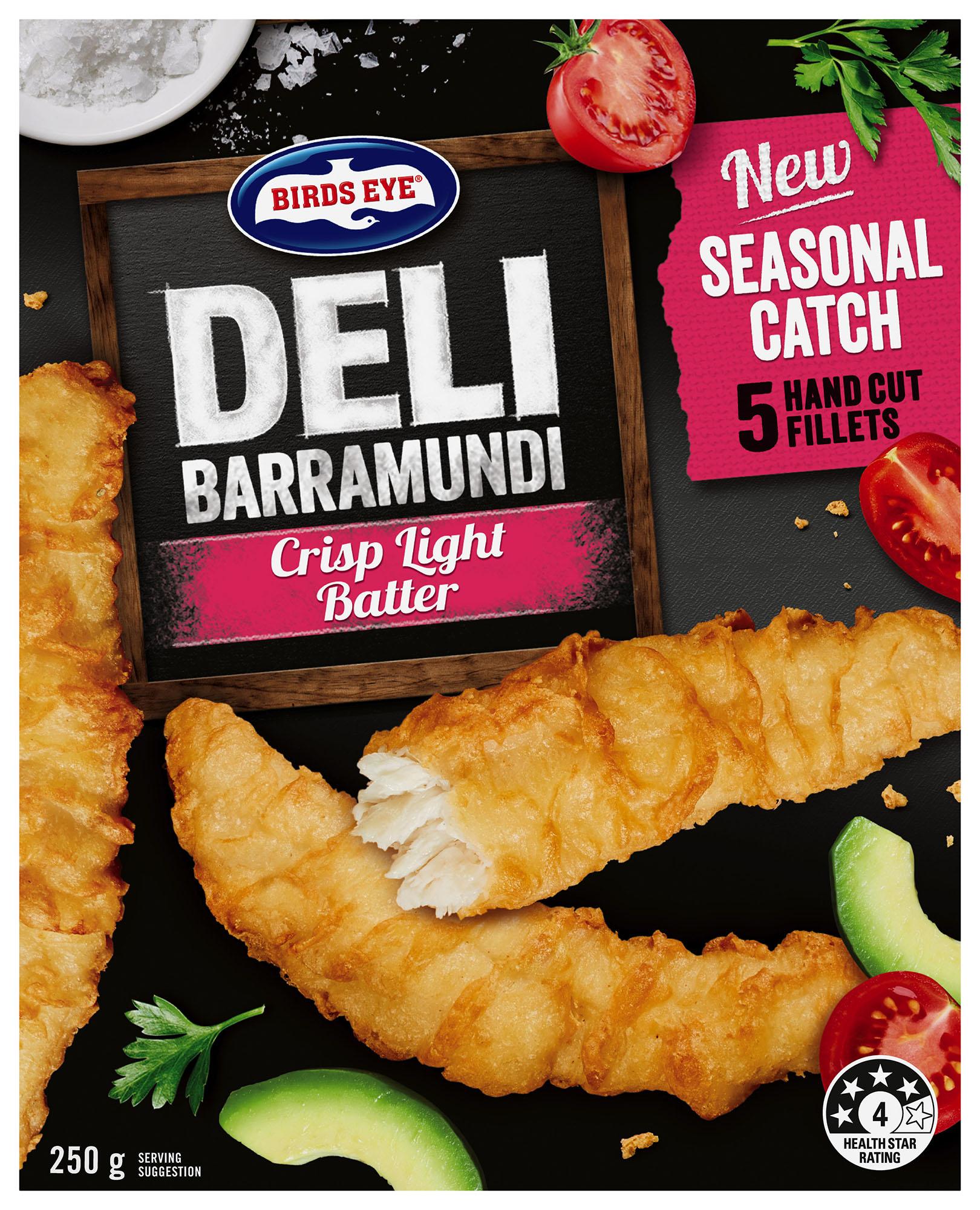 Birds Eye Deli Baramundi FMCG, Packaging, Advertising, Food styling