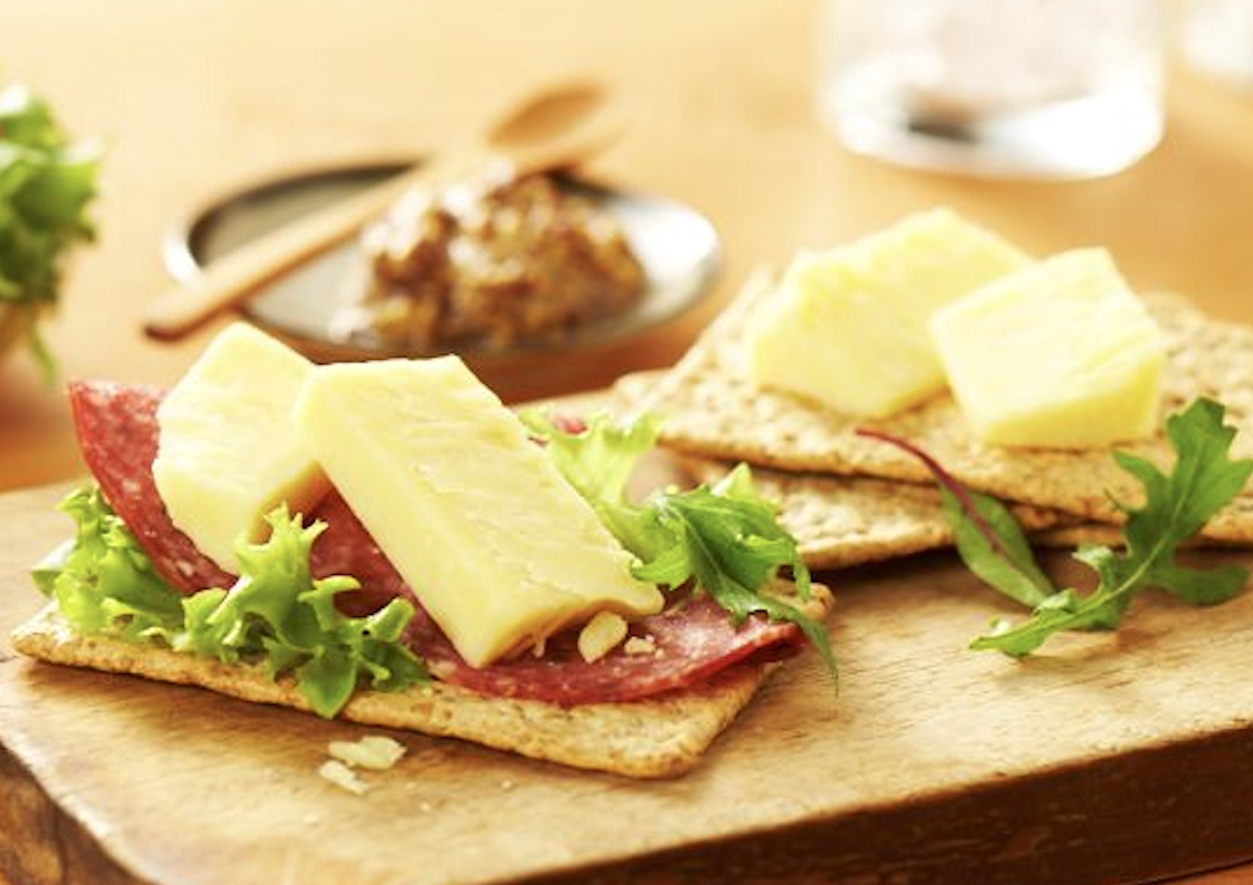 Cheese and Crackers FMCG Food styling