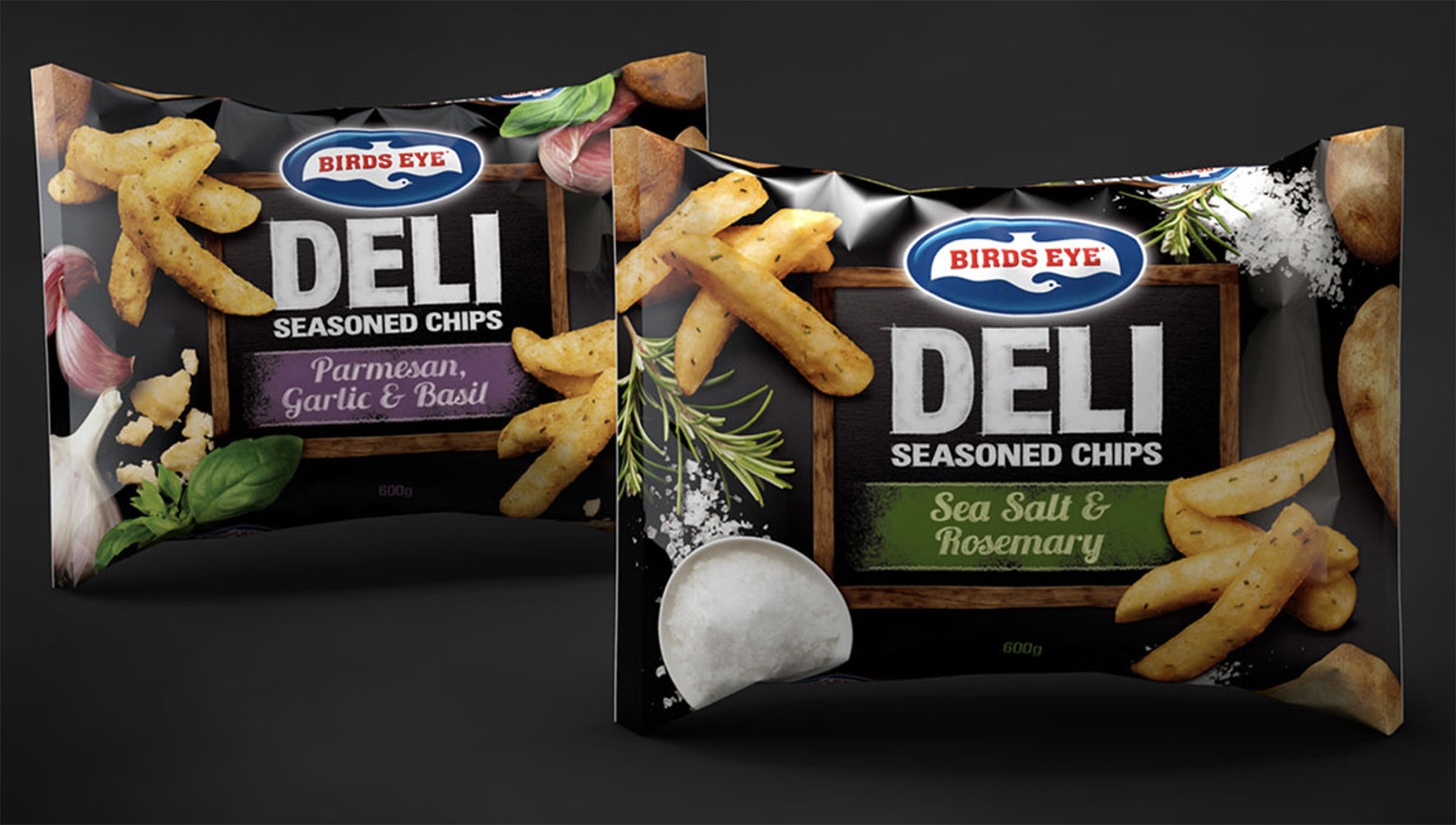 Birds Eye Deli FMCG Packaging Food styling