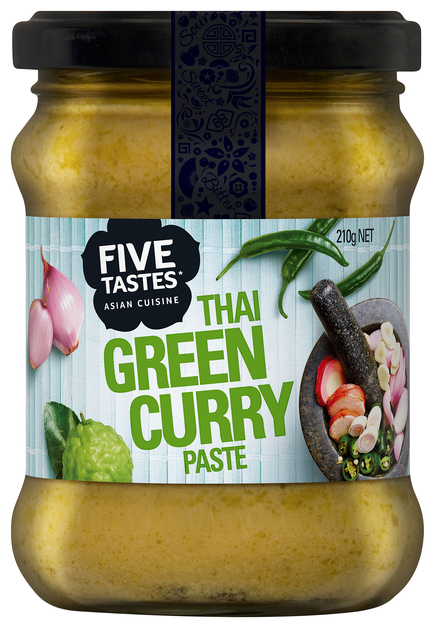 Five Taste Thai Green Curry FMCG Food styling