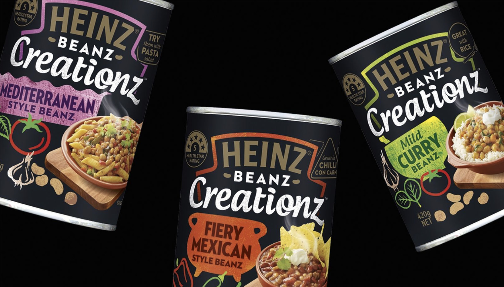 Heinz Creation Soups FMCG Packaging Food styling