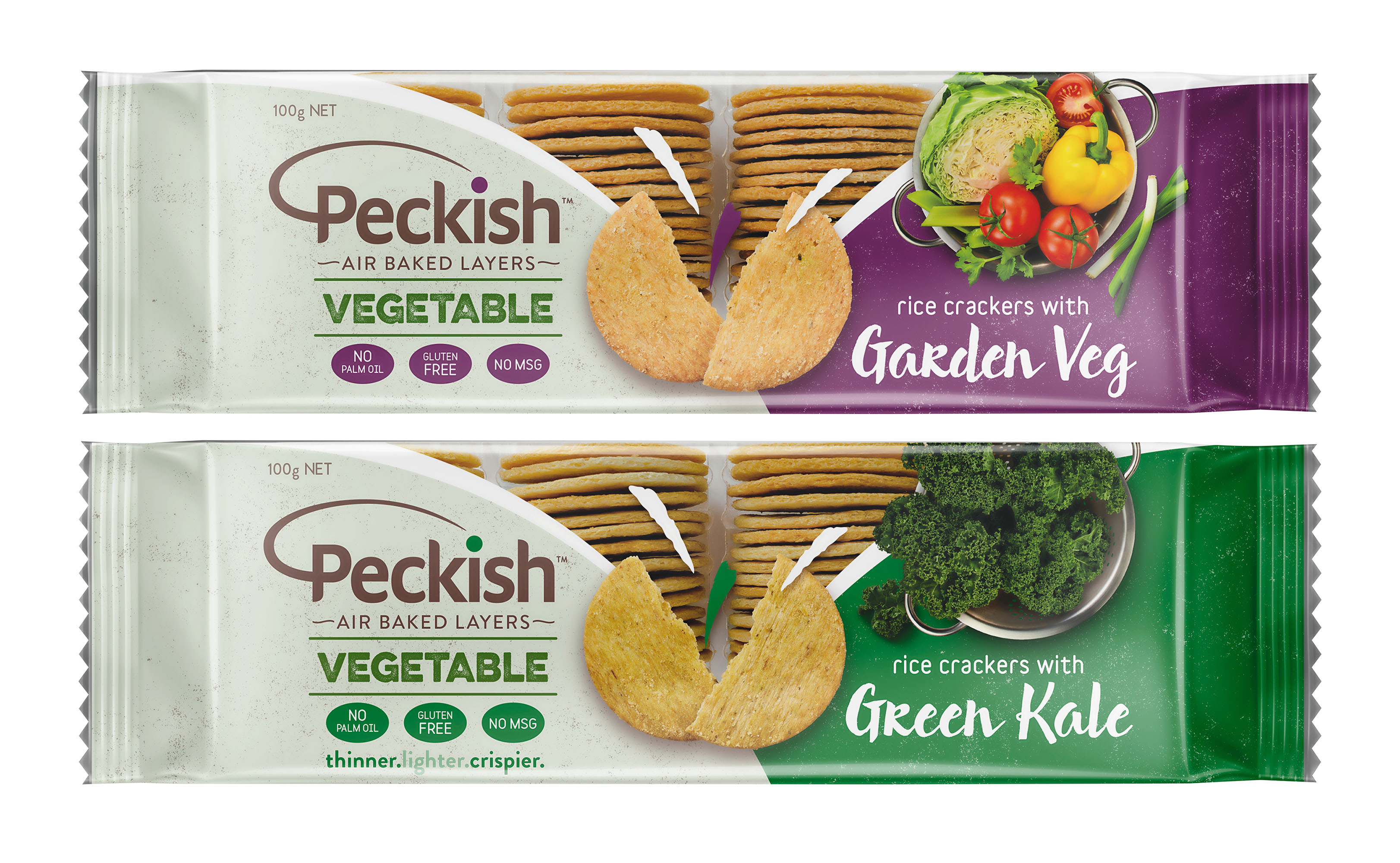 Peckish FMCG Packaging Food styling