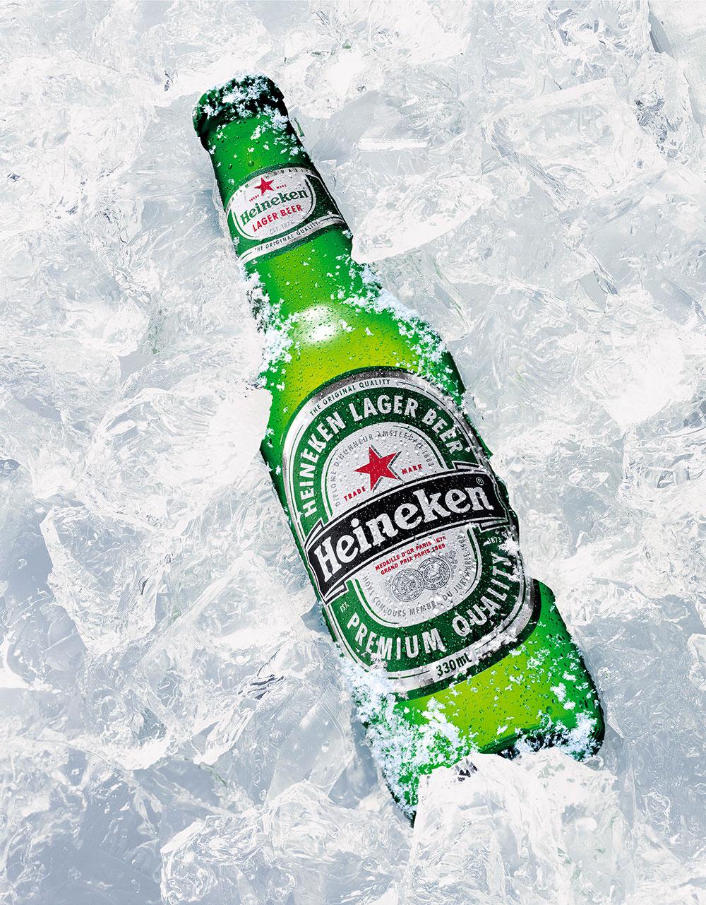 Heineken bottle FMCG, Advertising